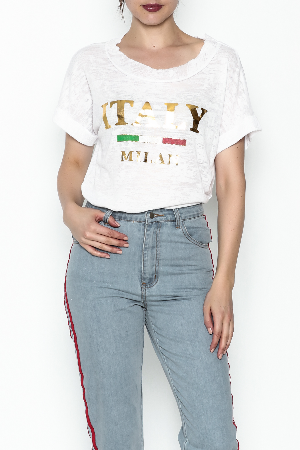 simple the label Italy Tee - Main Image