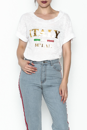 simple the label Italy Tee - Product Mini Image