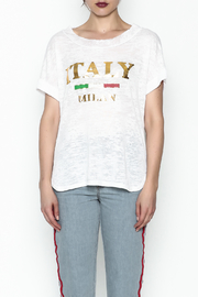 simple the label Italy Tee - Front full body