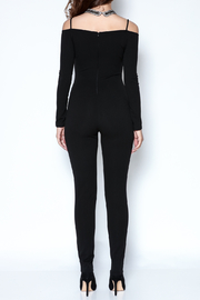 simple the label Long Sleeve Jumpsuit - Back cropped