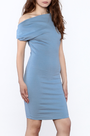 simple the label One Shoulder Dress - Product Mini Image