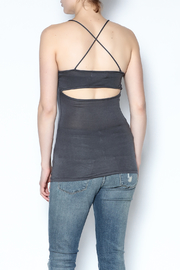 simple the label Open Back Cami - Back cropped