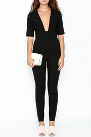 simple the label Open Front Jumper - Front full body