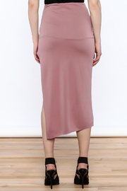 simple the label Modern Bodycon Skirt - Back cropped