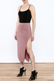 simple the label Modern Bodycon Skirt - Front full body
