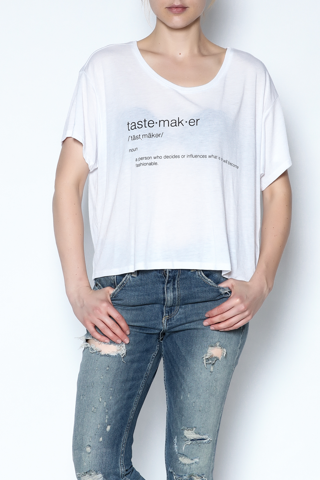 simple the label Tastemaker Tee - Front Cropped Image