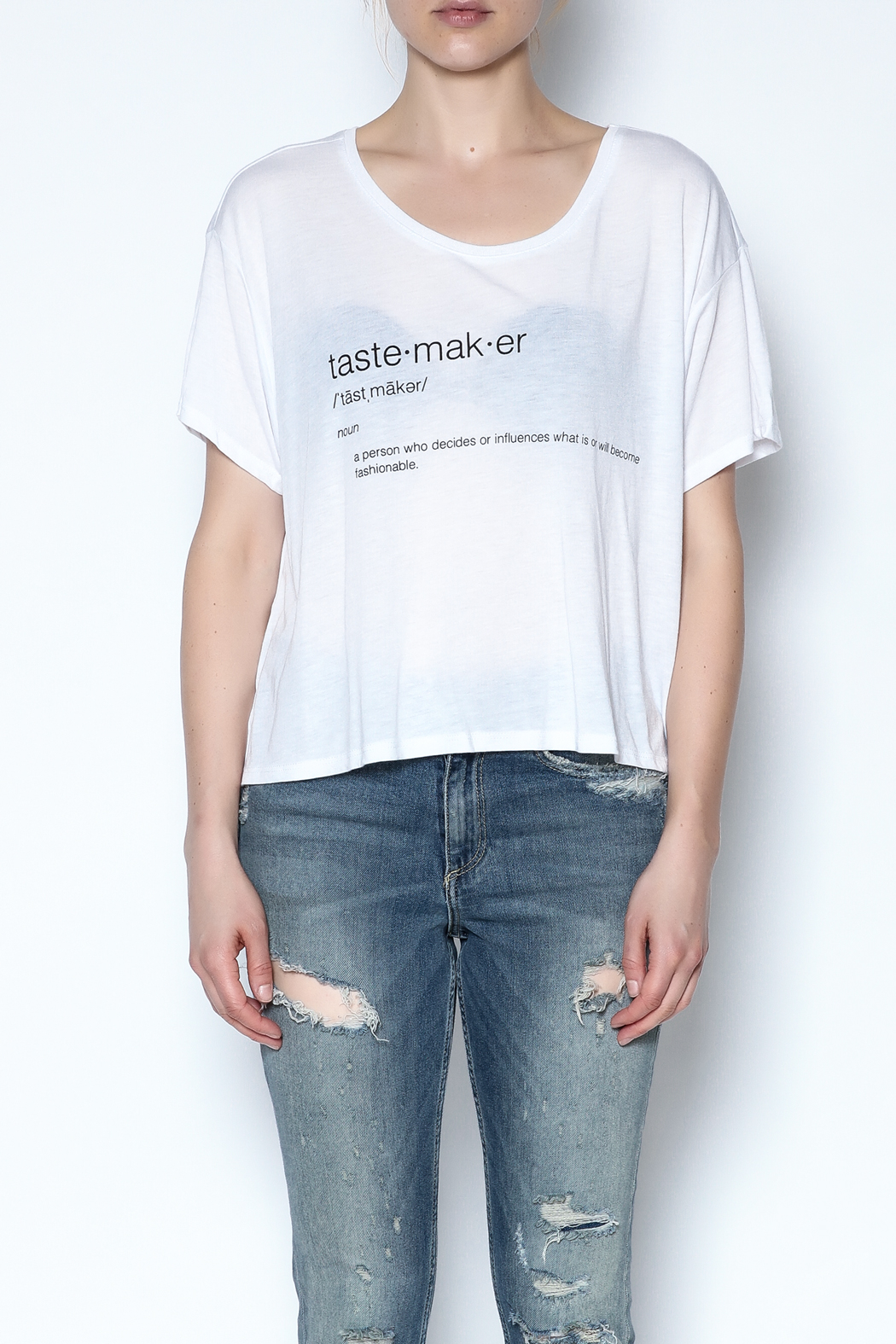 simple the label Tastemaker Tee - Front Full Image
