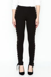 simple the label Tie Up Legging - Front full body