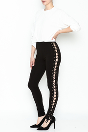 simple the label Tie Up Legging - Side cropped