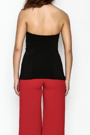 simple the label Tie Up Top - Back cropped
