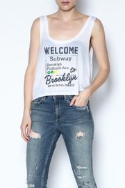 simple the label Welcome To Brooklyn Tee - Front cropped