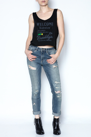 simple the label Welcome To Brooklyn Tee - Side cropped