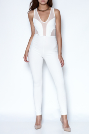 simple the label X Back Jumpsuit - Front cropped