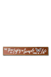 The Birch Tree Simple Things Quote Block - Product Mini Image