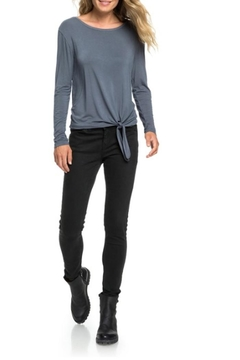 Roxy Simple Tie-Front Tee - Product List Image