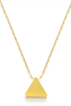Shoptiques Product: Simple Triangle Necklace