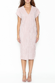 Pinkyotto Simple V Dress - Front full body