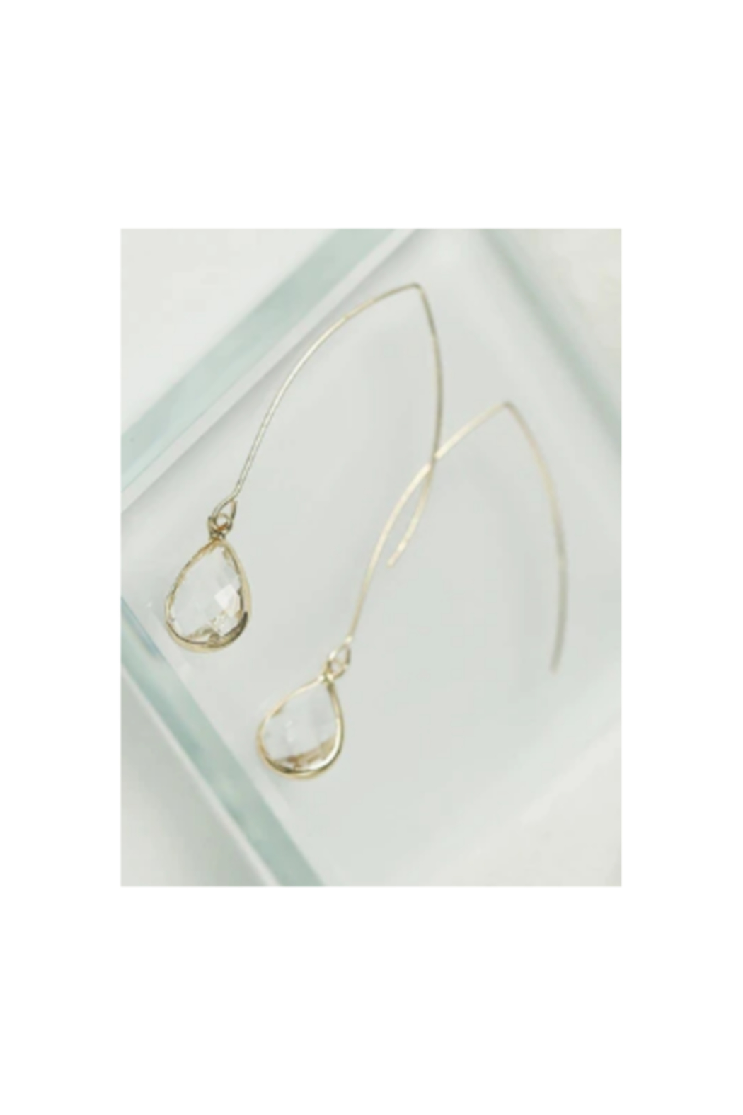 The Birds Nest SIMPLE WATER DROP EARRINGS - Main Image