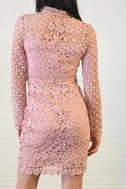 simple the label Lace Dress - Front full body