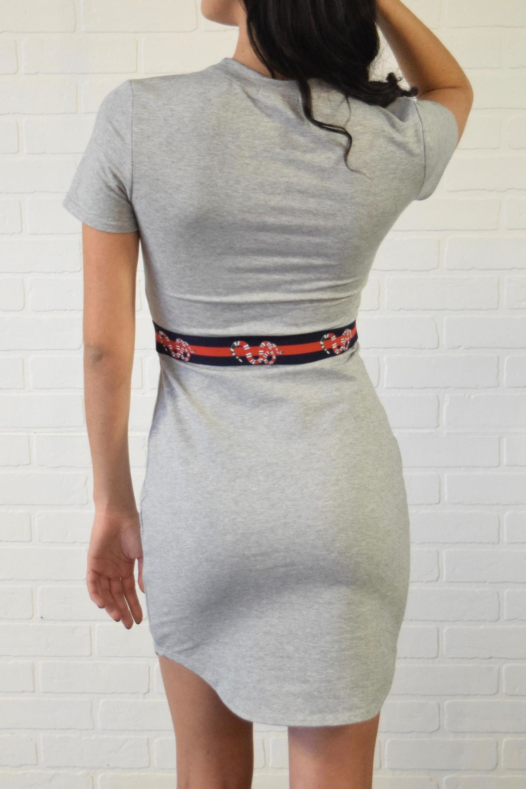 simple the label T Shirt Dress - Side Cropped Image