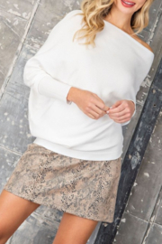 ee:some Simplicity Is Key Sweater - Front cropped