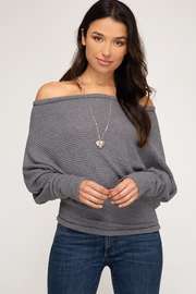 She + Sky Simply Casual Top - Product Mini Image