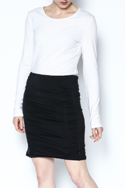 Simply Noelle Adjustable Button Skirt - Front cropped
