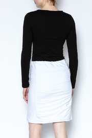 Simply Noelle Adjustable Button Skirt - Back cropped