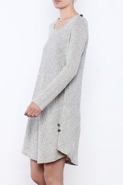 Simply Noelle Button Knit Dress - Product Mini Image