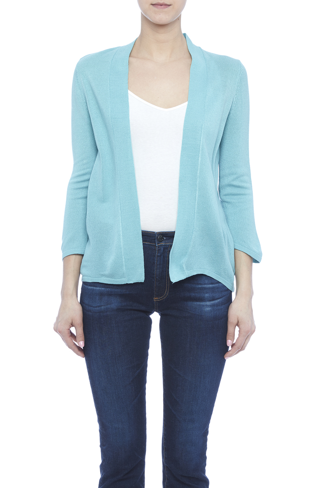 Simply Noelle Basic Cardigan - Side Cropped Image