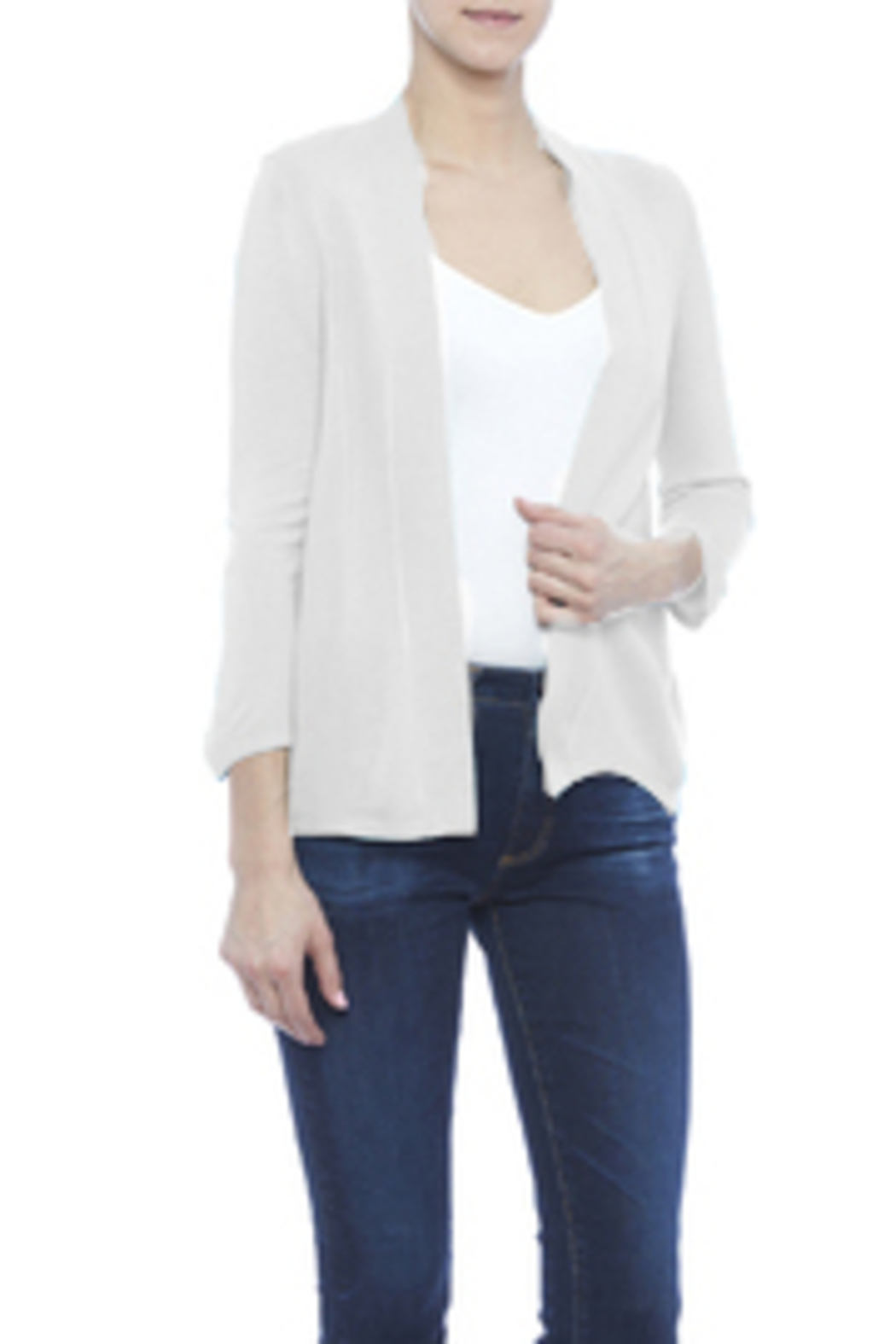 Simply Noelle Basic Cardigan - Front Cropped Image
