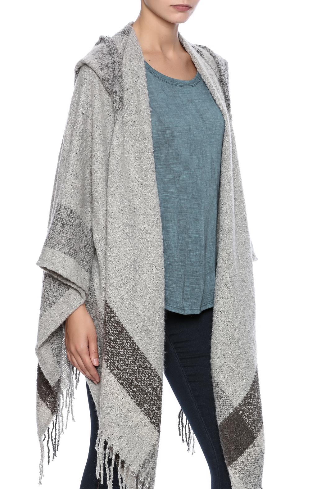 001c11d5c13f Simply Noelle Hooded Wrap from Dallas by Gypsy Cowgirl — Shoptiques