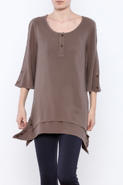 Simply Noelle Metal Button Tunic - Product Mini Image