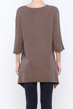 Simply Noelle Metal Button Tunic - Alternate List Image