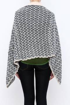 Simply Noelle Nantucket Button Poncho - Alternate List Image