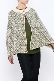 Simply Noelle Nantucket Button Poncho - Product Mini Image