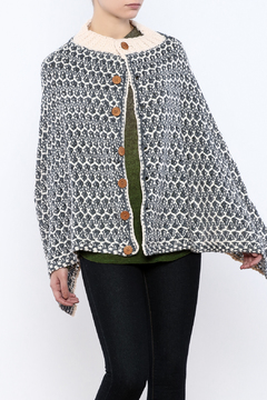 Simply Noelle Nantucket Button Poncho - Product List Image