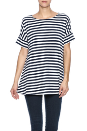 Simply Noelle Nautical Striped Tunic - Product Mini Image