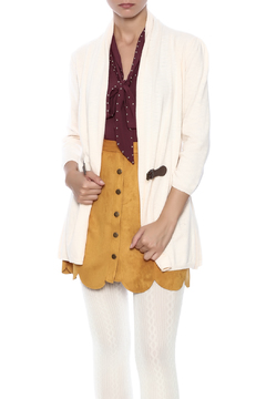 Shoptiques Product: Ruched Back Cardigan