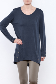 Simply Noelle Snap Placket Top - Product Mini Image