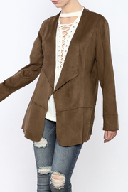 Simply Noelle Suedette Jacket - Product Mini Image