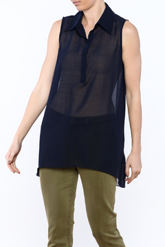 Simply Noelle Sheer Tunic Top - Product List Image