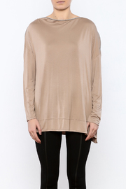 Simply Noelle Zipper Neck Top - Side cropped