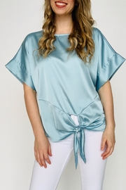 She + Sky Simply Satin Top - Product Mini Image