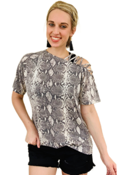 Shoptiques Product: Simply Snake Top