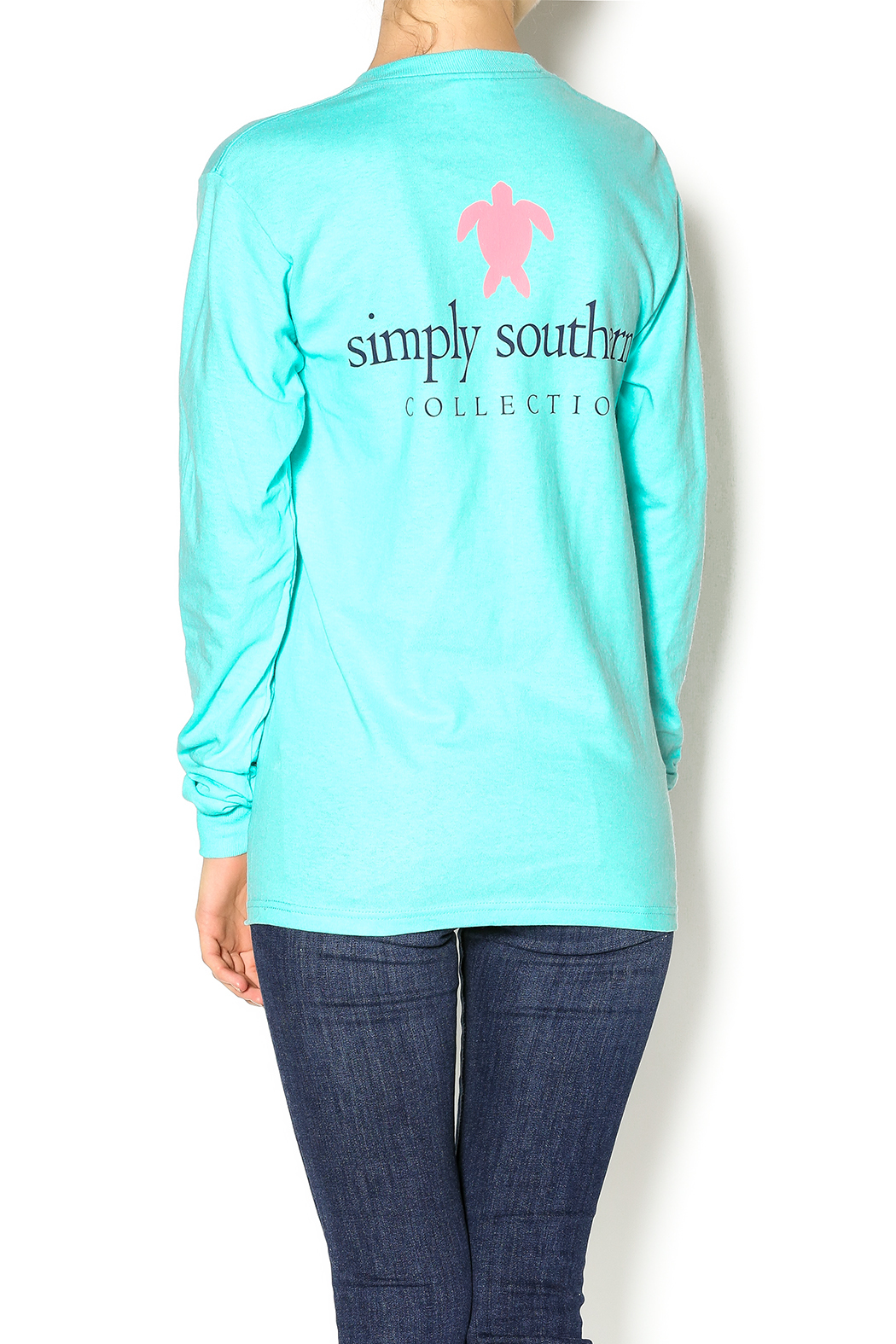 Simply Southern Pocket Shirt - Front Cropped Image