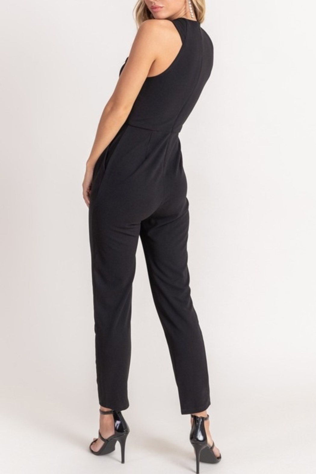 Lush  Simply Stylish Jumpsuit - Front Full Image