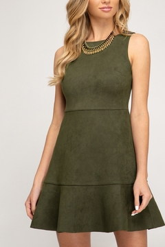 She + Sky Simply Suede Dress - Product List Image