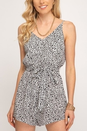 She & Sky  Simply Wild romper - Front cropped