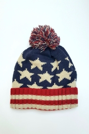Simply Chic American Flag Beanie - Product Mini Image